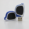 glasses shape usb stick Wholesale hot selling Creative product rubber usb flash drives for promotional gift