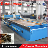 Factory price HRL-4012 CNC sheet metal V Grooving Machine for Stainless Steel Aluminum