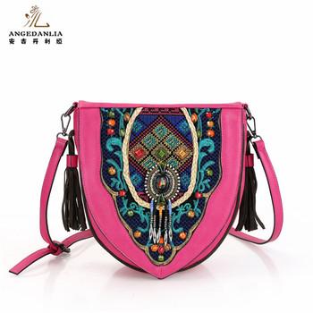 Whole Bucket Embroidered Bag Tribal Vintage Sling 2017