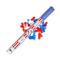 Boomwow America National Independence Day July Fourth Party Confetti Popper Confetti Cannon for USA
