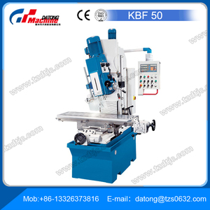 Drill Press / Milling Machine - KBF50 Cutter head with variable angle, plus large travel distances