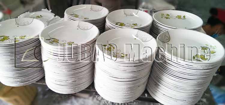 Disposable Tableware Processing melamine dinner set making machine