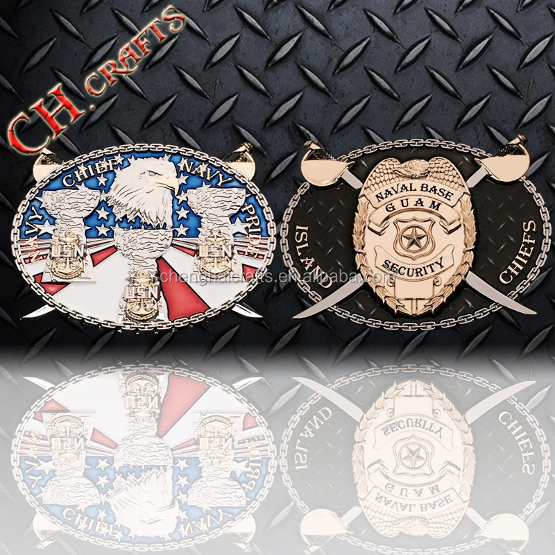 Navy pride navy chief CPO custom navy challenge coin