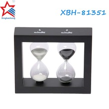 Wholesale Customized 3 5 Minute Wood Tea Sand Timer Hourglass