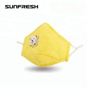 n95 cotton reusable cartoon mouth pollution face mask anti pm2.5