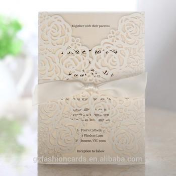 White Luxury Laser Cut Royal Wedding Card Design Buy Royal Wedding