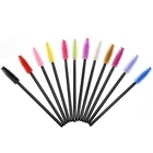 Top Quality Disposable Mascara Wands Makeup Eyelash Brush With Plastic Handle