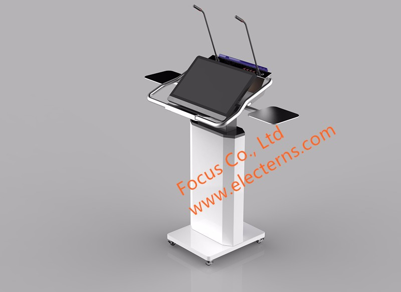 FOCUS FK535 smart speech metal podium for board meetings
