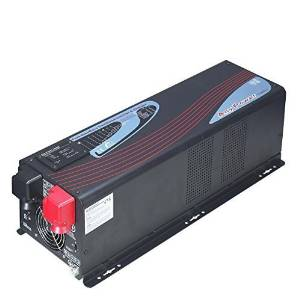 GTSUN 2000W Peak 6000W APV Low Frequency Pure Sine Wave Inverter DC 12V AC 110V/220V/230V/240V Battery Charger MPPT 60Amp Solar Charger Controller LCD Display AC/Battery Priority Selectable New.23KG!!