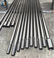 R22,R25,R28,R32,R35,R38,T35,T38,T45,T51,T60 hex/round thread drill extension rod and M/F SPEEDROD with 4/5/6/8/10/12feet,14feet