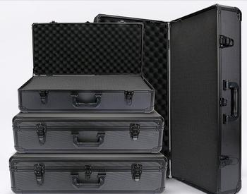 Customized size and Multifunctional large, medium and small carrying aluminum tool case