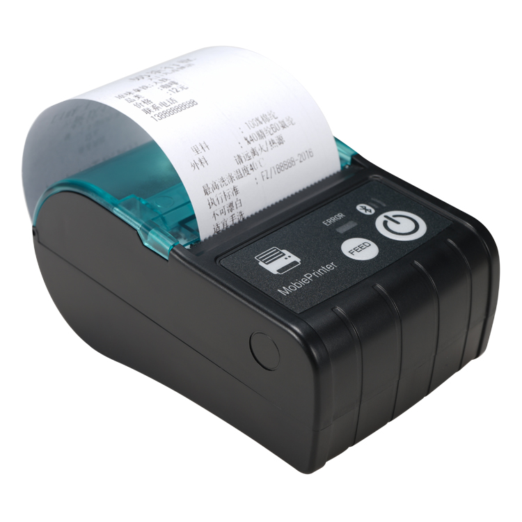58mm mini draagbare bluetooth thermische printer