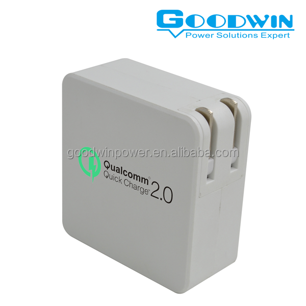 qualcomm quick charger 2.0 technology New Arrival 5V 3.1A US type 2 USB Charger