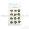 metal antique flower trinket for scrapbooking embellishment