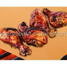 Copper PTFE Grill Baking Mat, PTFE Oven Liner, PTFE BBQ Grill Mat