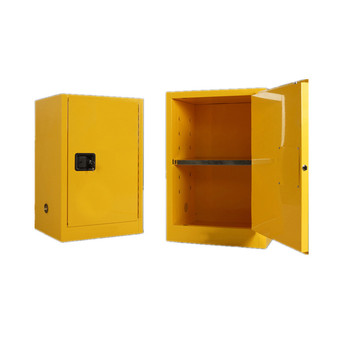 Used Safety Fireproof Flammable Laboratory Chemicals Storage Cabinet