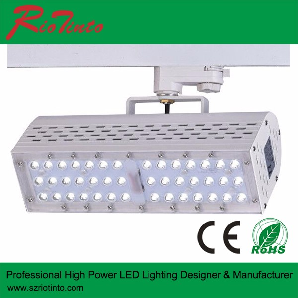 CE, Rohs listed 70W track lighting remote control, led track smd IP65 waterproof