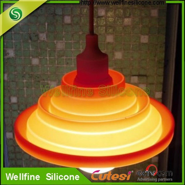 Colorful and Folding Silicone Lamp Shade/ Lamp Covers