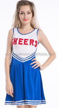 Adult High School Cheerleader Outfit Fancy Dress Costume Ladies Uniform Girl School Cheerleader Uniform  sc 1 st  Alibaba Wholesale & Adult High School Cheerleader Outfit Fancy Dress Costume Ladies ...