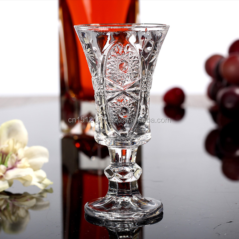 Aliisar Clear Top Quality Wine / Cocktail / Water Glasses special shot glass