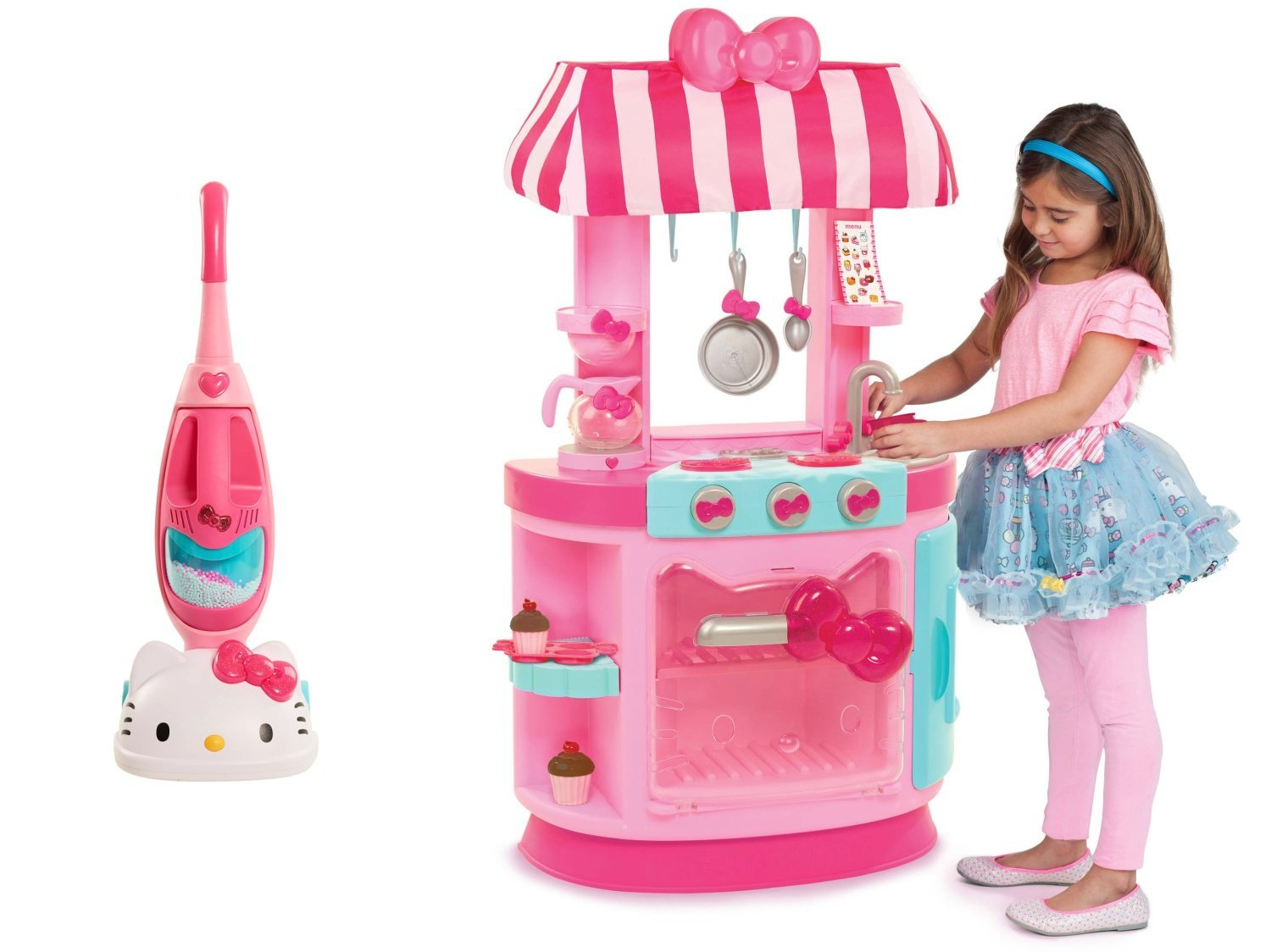 Buy Hello Kitty Kitchen Cafe And Hello Kitty Vacuum Cleaner Playset Bundle In Cheap Price On Alibaba Com