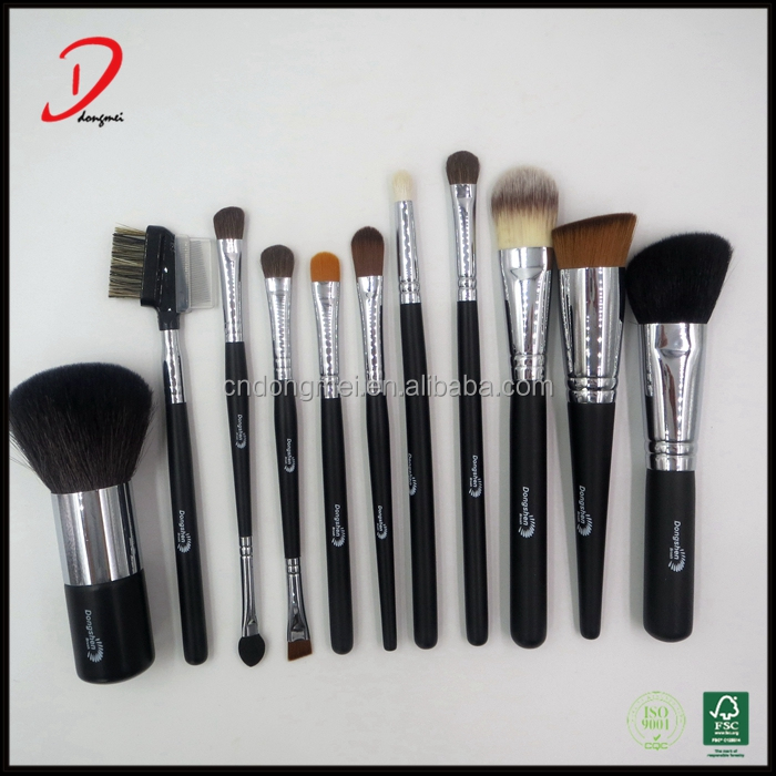 Custom logo wholesale best price professional personalized makeup brushes set