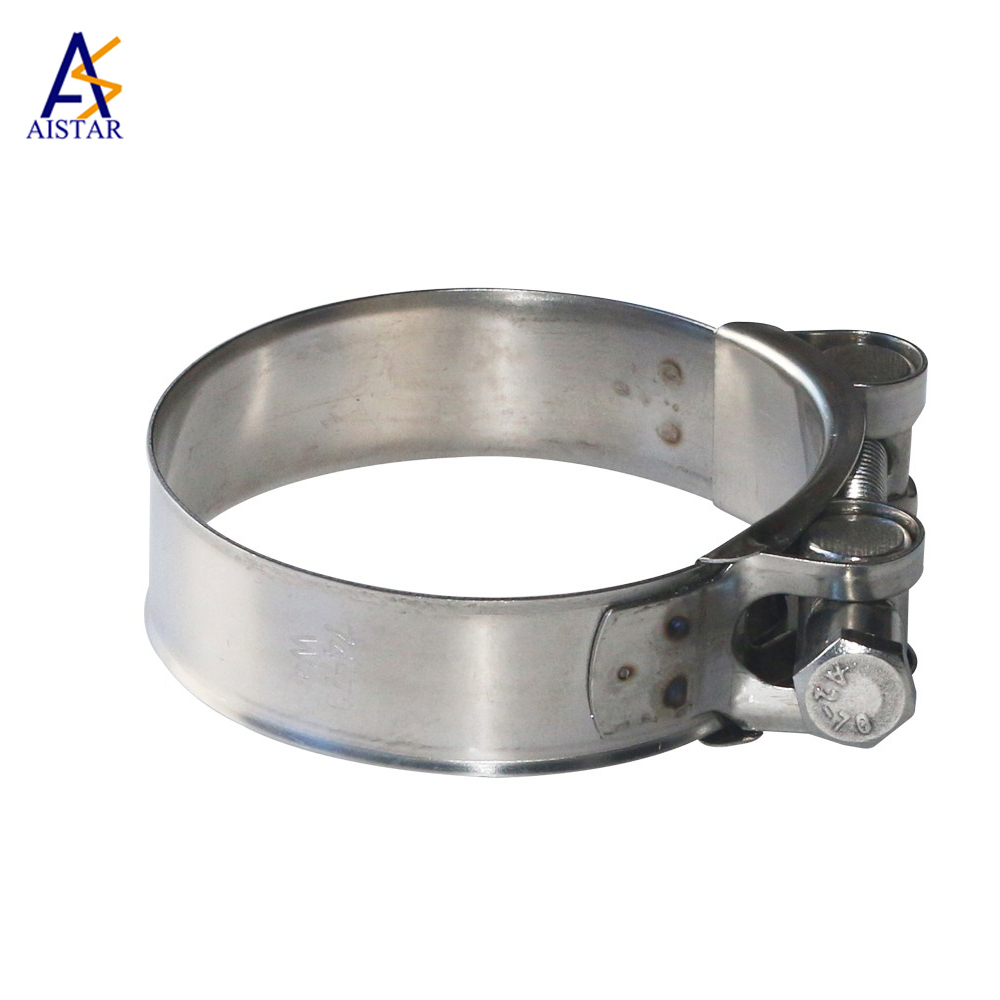 OEM circular shaped extra wide hose clamps used for pipe
