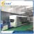 Full-automatic plastic thermoforming machine integrated forming/cutting/stacking inline