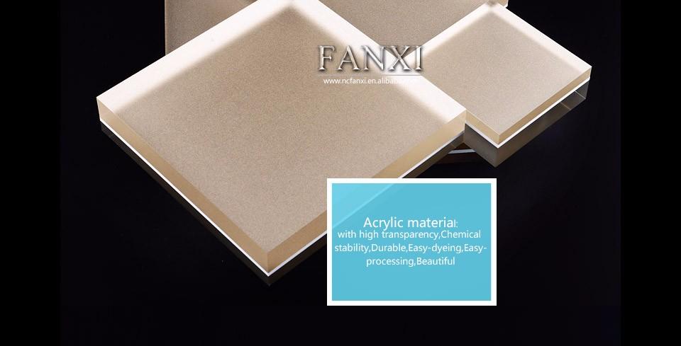 Fanxi Luxury Custom Plexiglass Jewelry Ring Necklace Bracelet ...
