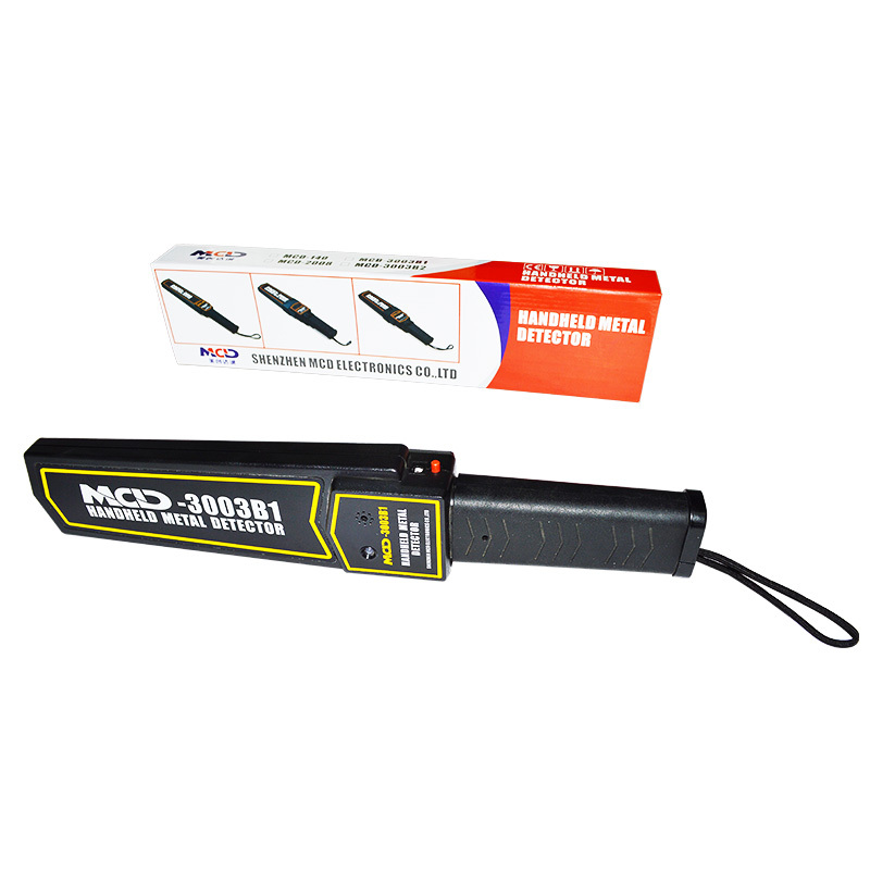 Stable Performance Handheld Metal Detector With Sound / Vibration / Light Alarm