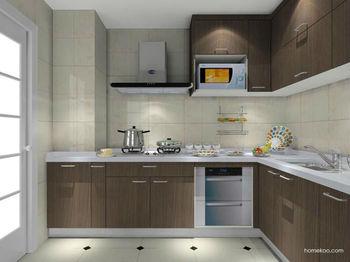 Muebles De Cocina-l Tipo Ambry Integral Combinación - Buy Fregadero ...