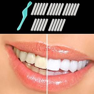 Whiten Teeth Tooth Dental Peeling Stick + 25 Pcs Eraser MB AU
