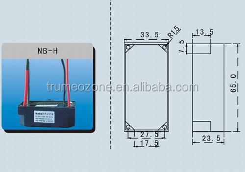 Active Oxygen Negative Ion Component / Ionizer Component
