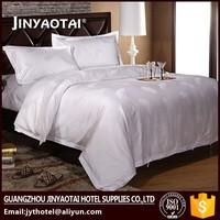 white egyptian cotton commercial hotel bed linen set sheet