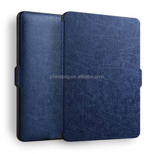 Yasi Texture Pu Leather Case for Amazon Kindle, Smart Case for Kindle 8th Generation Waterproof