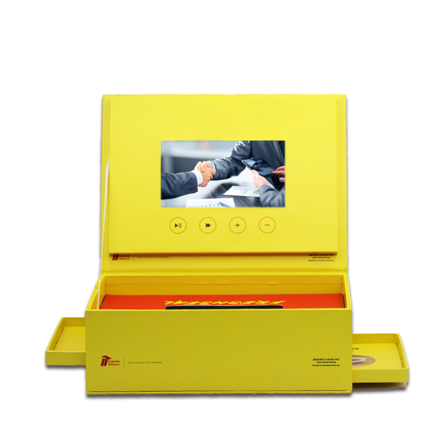 Jewelry Presentation Digital Greeting 5 Lcd Display Gift IPS Screen 7 Inch Video Card Box