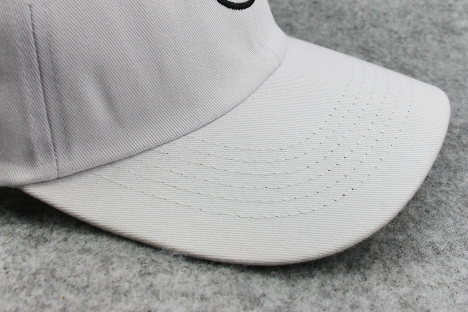 Unconstructed 100% cotton dad hat for men
