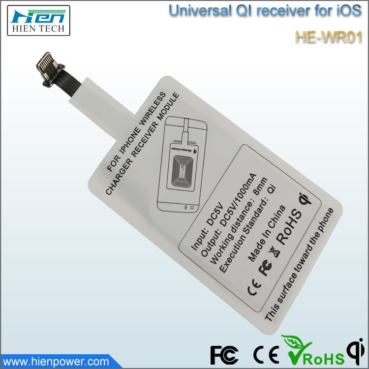 Ce Approved Wholesale Qi Universal Wireless Charger Receiver For Huawei  Mate 10 And Most Of Android Phones - Buy Qi Universal Wireless Charger