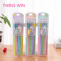 2019 Amazon Hot Sale Factory Price private label wholesale novelty pens and art wooden pencils stationery set gift set 361
