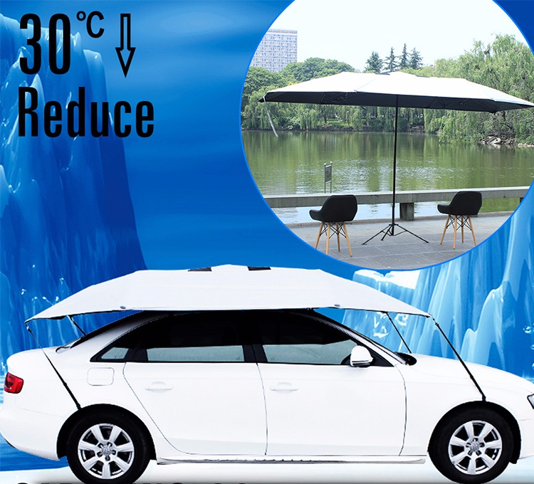Sunclose Heat Insulated Function Uv Protection Waterproof Folding