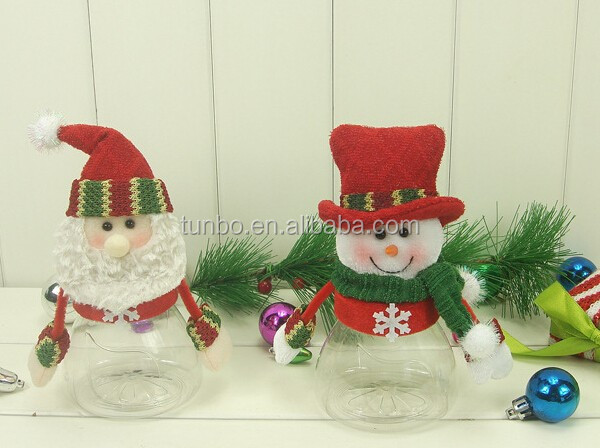 New Arrivals lovely christmas decoration doll santa for christmas tree