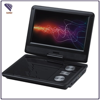 Shenzhen Manufacturer of 9 inch 300 Games cheap portable dvd player