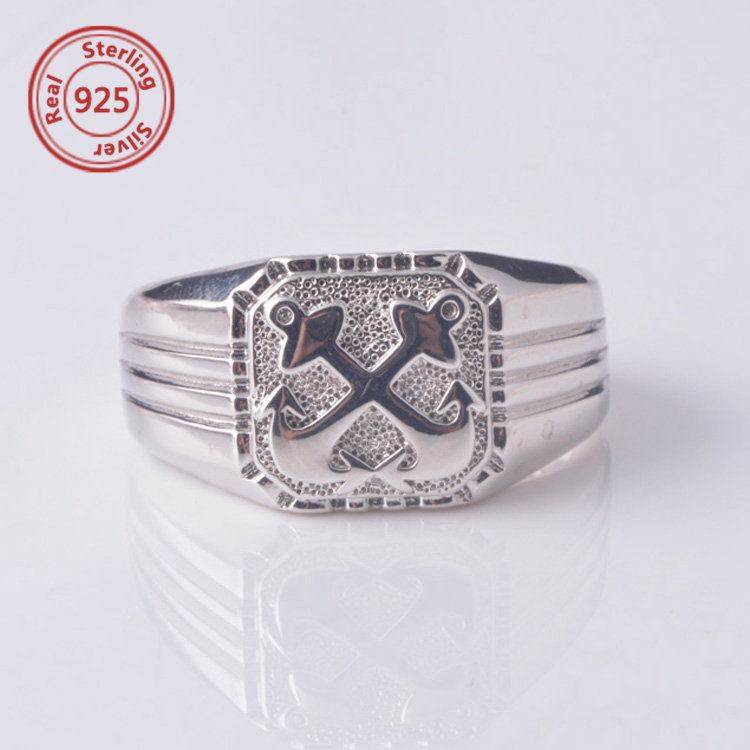 Sterling Silver Custom Made College Ring Class Rings Size