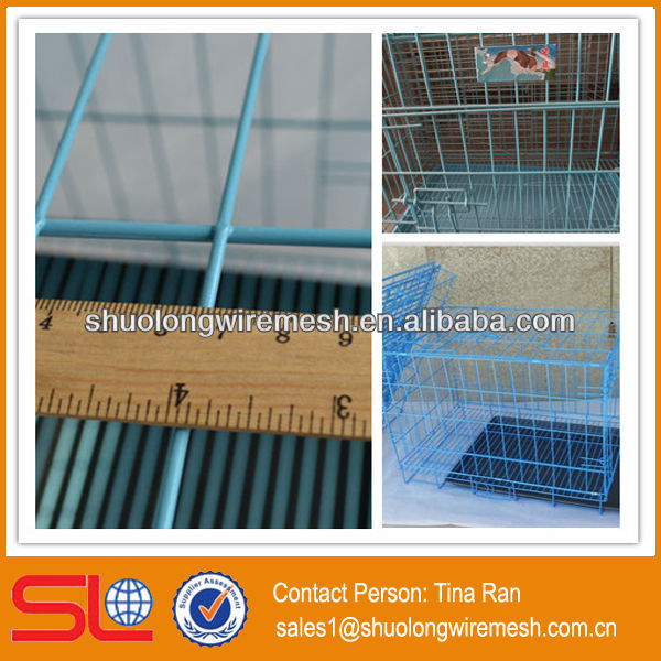 Have Stock factory Folding metal cages for dog kennels,outdoor metal dog run kennel(BV Certificate Company and Factory)