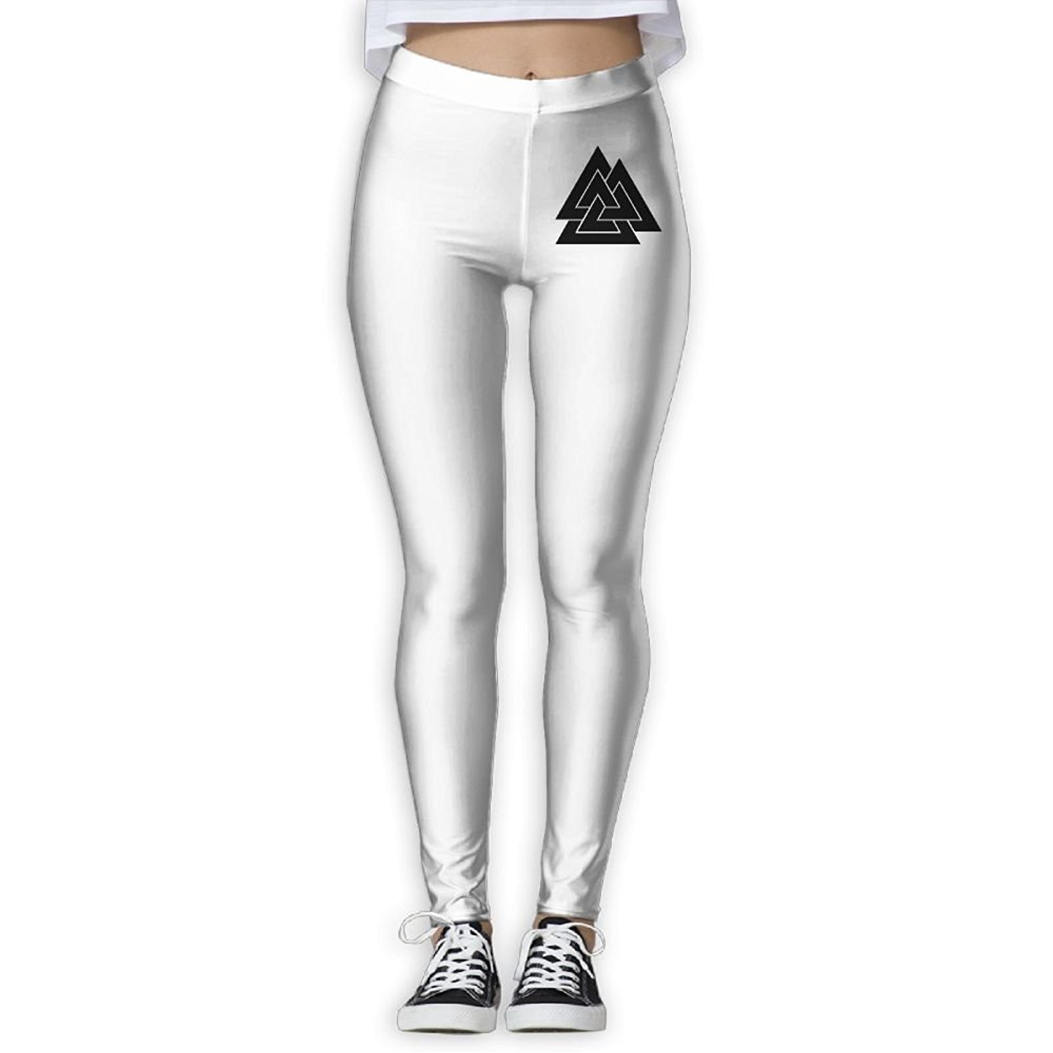 676362cae380a Get Quotations · HUPPNAME Valknut Viking Age Symbol Norse Warrior - Yoga  Pants Gym Pants Athletic Pants