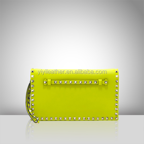 S385 Wristlet Clutch Bag for Women,Evening Handbags,Synthetic Leather Clutch