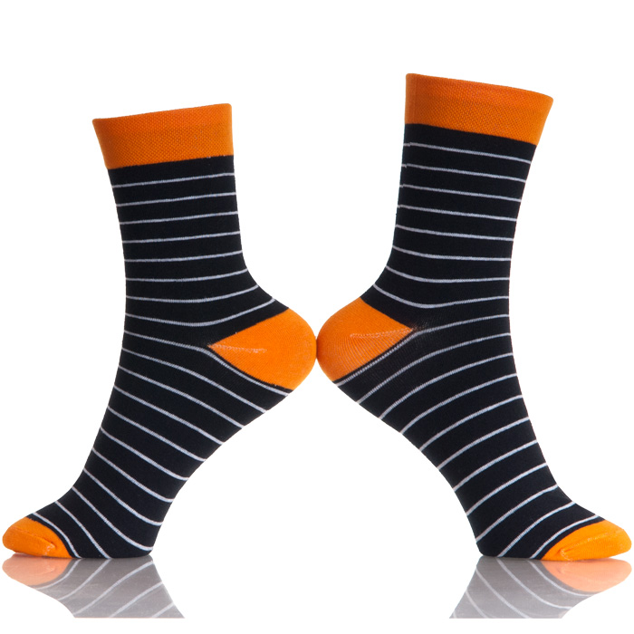 2019 New Rushed Men Socks Casual Men's Color Stripes Fashion Designer Style Cotton