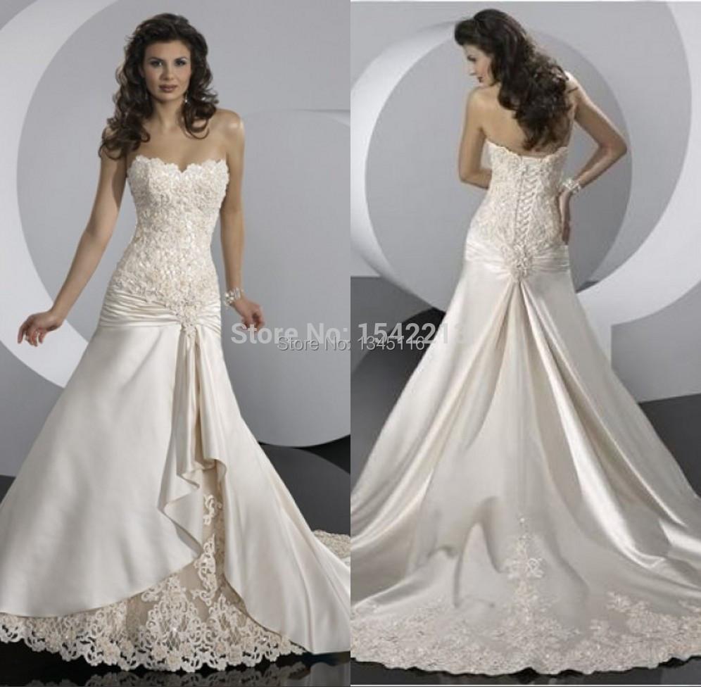 Aliexpress.com : Buy Mermaid Lace Wedding Dress Bridal