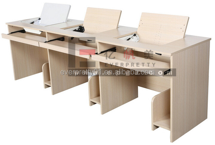 Haute Qualité En Bois Table D'ordinateur Bureau D'ordinateur Intelligent