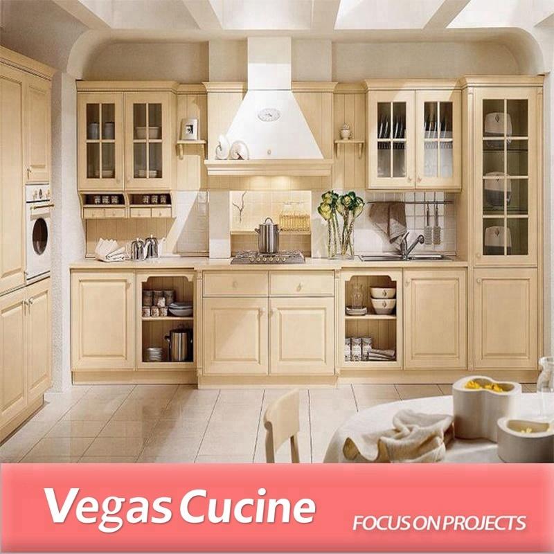 Modern White Oak Kitchen Cabinets: ארון מטבח עץ אלון לבן עץ מודרני-ארונות מטבח-מספר זיהוי